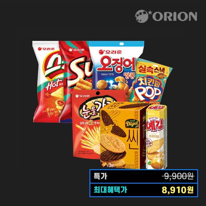 [특가위크] 티몬블랙딜 오리온 눈을감자/스윙칩 1Box+10%쿠폰