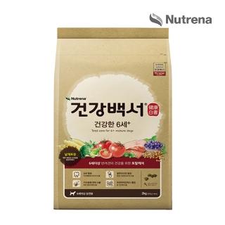 [슈퍼마트] 건강백서 건강한 6세+ 6kg * 2