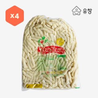 [대용량]밀떡 슬라이스떡볶이떡4kg4입