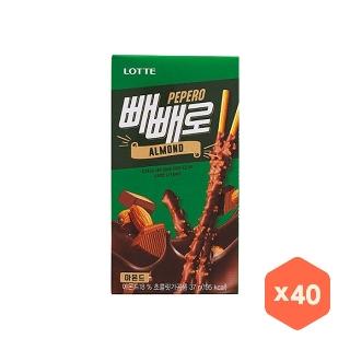 [대용량] 롯데 아몬드 빼빼로37gX40입X1박스