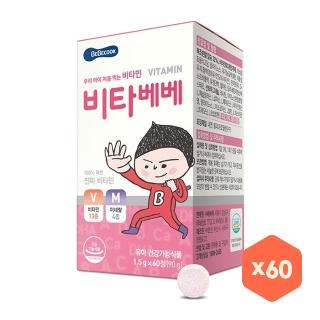 [슈퍼마트] 베베쿡 비타 베베 1.5g X 60입