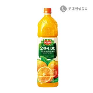 [슈퍼마트] 롯데칠성 델몬트 오리지널 오렌지100% 1.5L