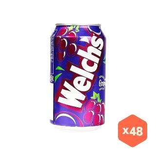 [대용량] 웰치스 포도 X 355ml X 24캔 X 4박스