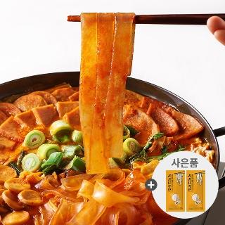 [10분어택] 불릴 필요 없는 감자 납작당면 160g 4팩 / 떡볶이 찜닭 마라탕 사리 / 2세트 구매 시 2팩 더 증정