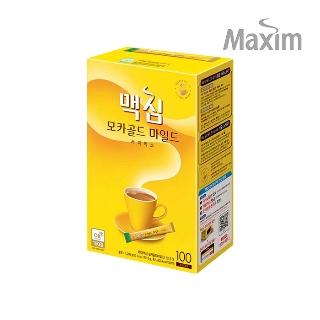 [슈퍼마트] 맥심 모카골드 커피믹스 100T