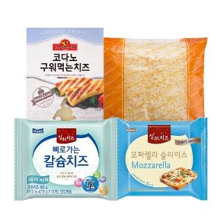 [슈퍼마트] 매일 상하치즈 모짜렐라 슬라이스 10매 외 9종