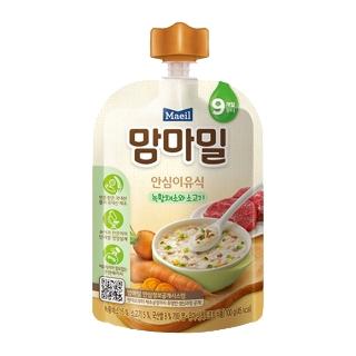 [슈퍼마트] 매일 맘마밀 녹황채소와 소고기 100g