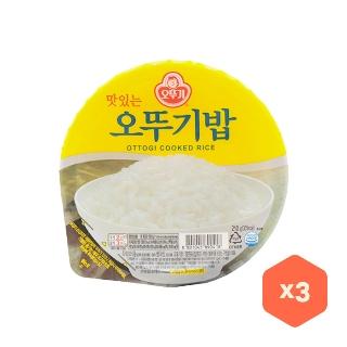 [슈퍼마트] 오뚜기밥 210g x3
